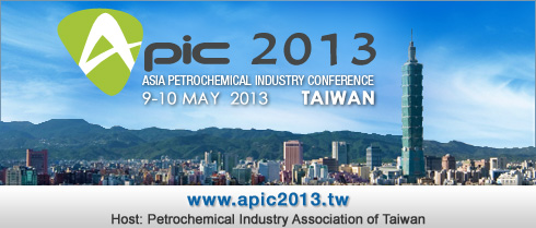 APIC 2013 9-10 May 2013 Taiwan Host: Petrochemical Industry Association of Taiwan – Details to Follow